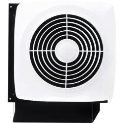 Broan 508 270 Cfm 6 Sone Wall Mounted Hvi Certified Utility Fan, White