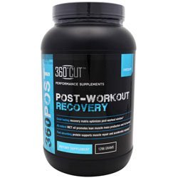 360 Cut 360 Post Post-Workout Recovery Chocolate -- 16 Servings
