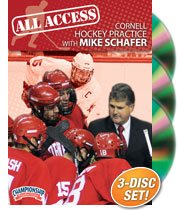 All Access Cornell Hockey Practice with Mike Schafer (DVD) by Championship Productions