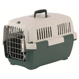 Marchioro Clipper Cayman 1 Pet Carrier, 19.5-inches, Tan/Green from Marchioro