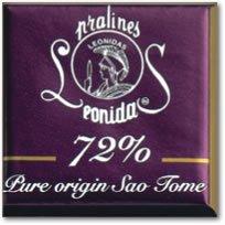 Leonidas Belgian Chocolates 1 lb Dark Napolitain 72 Pure Origin Sao Tome SquaresB0006BJCMK