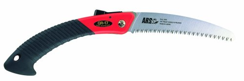ARS Pruning Folding Turbocut Saw with 6-1/2-Inch Curved Blade SA-GR17