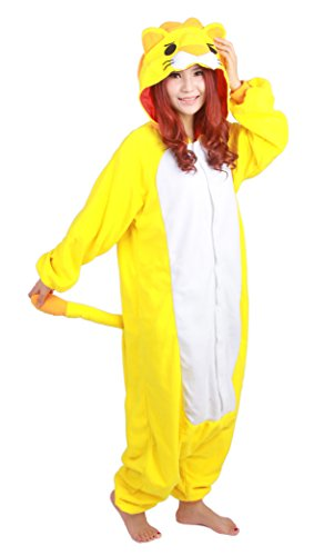 Yellow Lion Kigurumi Costume