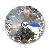 Swarovski 1122 Rivoli Round Stone 10 mm Crystal