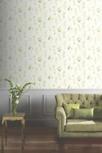 Opera Botanical Wallpaper - Green by New A-Brend