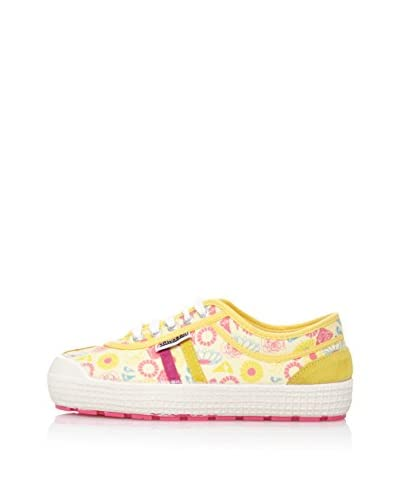 Kawasaki Zapatillas  Retro Higher Amarillo / Rosa
