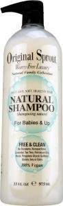 Original Little Sprouts All Natural Baby Shampoo - 34.5 Oz front-59167