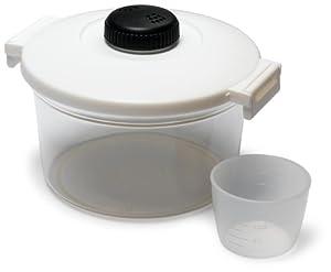 Amazon.com: KittAmor Microwave 2 Liter Pasta & Rice Cooker