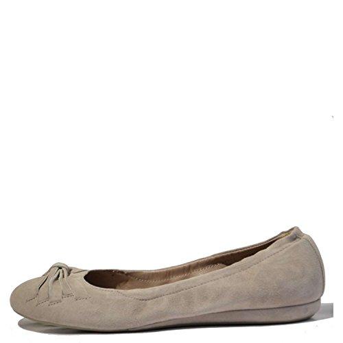 Vic 8254 Ballerina Donna 100% Camoscio Beige Beige 40