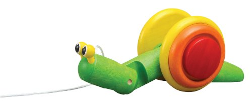 Learn More About Plan Toy Pull-Along Snail