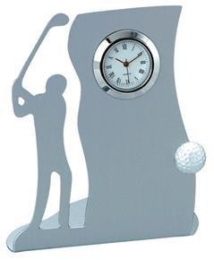 New - Drive Metal Golf Desk Clock - VAC606