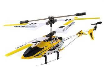 Syma S107G 35 Channel RC Heli with Gyro - Yellow
