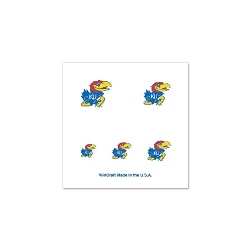 NCAA University of Kansas 79516010 Fingernail Tattoos