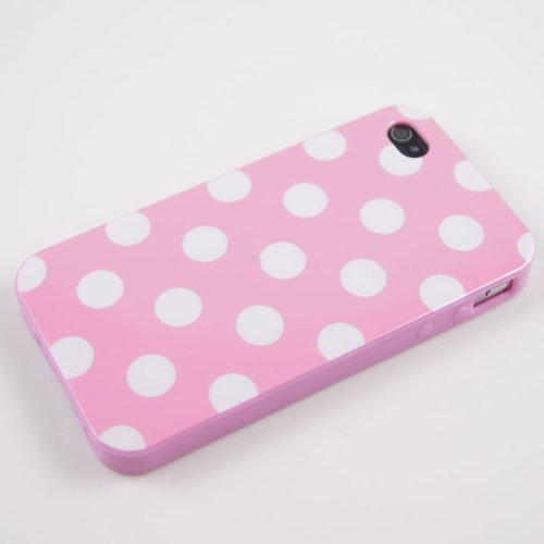 Apple-iPhone-44S-Polka-Dot-Case-Pink-White