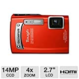 31NizcsOp L. SL160  Olympus TG 320 14MP Touch Series Camera with 3.6x Optical Zoom (Red)