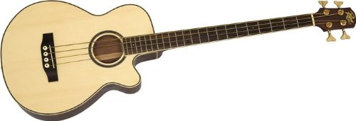 Rogue AB304 Acoustic/Electric Series II Bass Natural