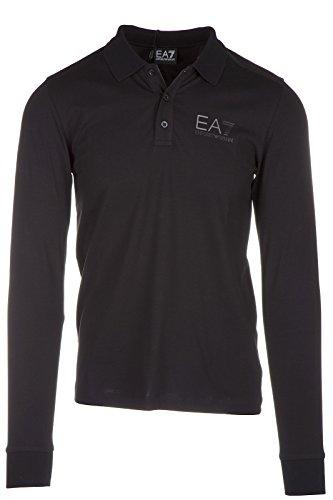 Emporio Armani EA7 polo t-shirt maglia maniche lunghe uomo nero EU M (UK 38) 6XPF62 PJ18Z 1200