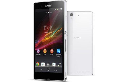 Sony Xperia Z SIMフリー 海外携帯 (White ホワイト)