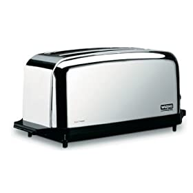 Waring Commercial Toaster Light Duty Chrome Plated 4 slice