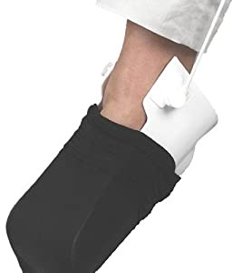 Ableware 738420000 Rigid Sock and Stocking Aid with Patented Heel Guide