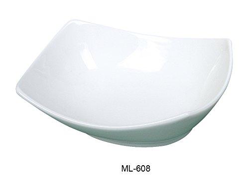 yanco-mainland-collection-8-x-6-21-oz-super-white-porcelain-rectangular-bowl-box-of-24
