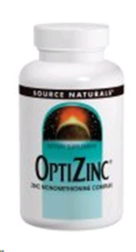 Source Naturals Optizinc Zinc Monomethionine 30Mg, 60 Tablets