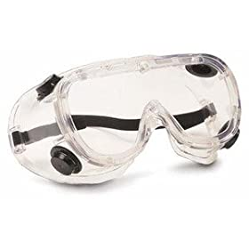 SEOH Goggles Plastic Safety Chemical Splash Indirect Vent Fogless