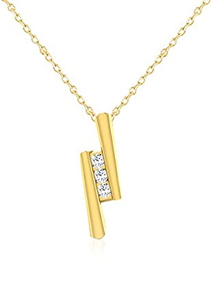 Friendly Diamonds Conjunto de cadena y colgante FDPXP9006Y Oro Amarillo