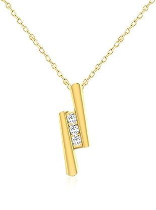Friendly Diamonds Conjunto de cadena y colgante FDPXP9006Y Oro Amarillo