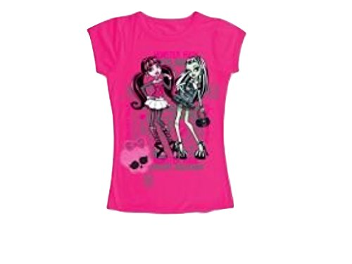 """Monster High T-shirt """"Draculaura e Frankie Stein"""""""