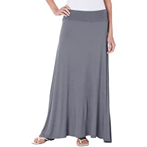 Bay Studio Womens Long Maxi Skirt X-Large Camel beige