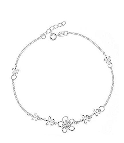 Ijewellery 925 Sterling Silver Simple Barefoot