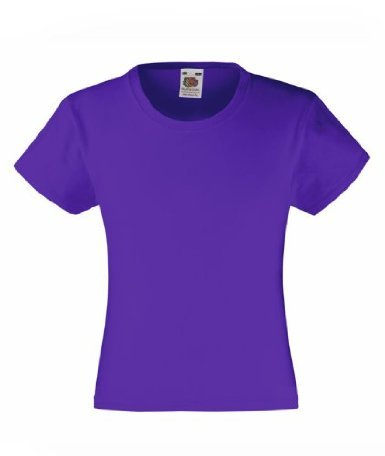 fruit-of-the-loom-ss079b-camiseta-de-manga-corta-de-la-nina-morado-morado-5-anos