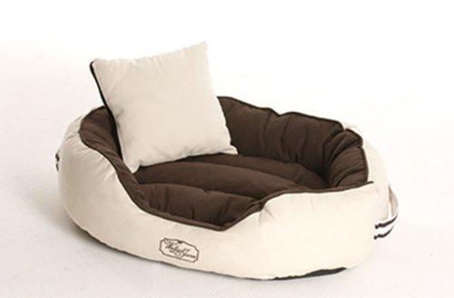 Bild von: Hundebett, Hundekorb, Hundesofa DERBY - XX-Large brown-beige von W&J
