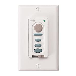 fan company hunter fan company 27189 two wire fan light wall control. Black Bedroom Furniture Sets. Home Design Ideas