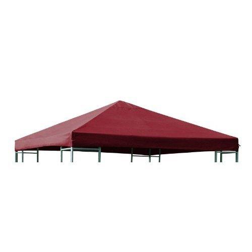 Ersatzdach für Pavillon 3×3 Meter bordeaux, wasserdicht günstig bestellen