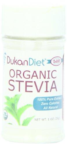 Dukan Diet Organic Stevia, 1 Ounce