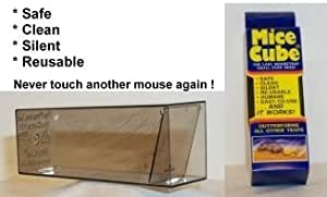 Mice Cube 4 Pk - Reusable Humane Mouse Trap