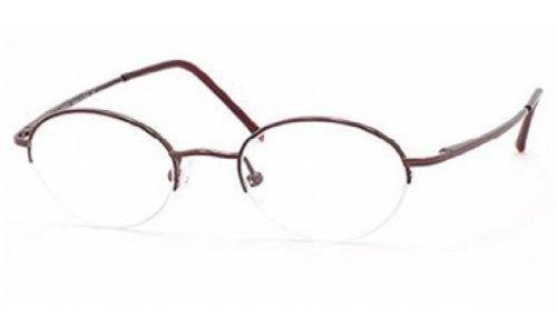 safilo-team-montura-de-gafas-t-4113-01k3-marron-45mm