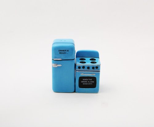 Retro Appliances Salt and Pepper Shaker Set: Cute Home Seasoning Device