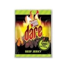 Slim Jim Kinda Hot Chili Pepper Beef Jerky, 2.9 Ounce -- 8 Per Case.