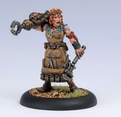 Privateer Press - Warmachine - Mercenary: Dirty Meg Model Kit