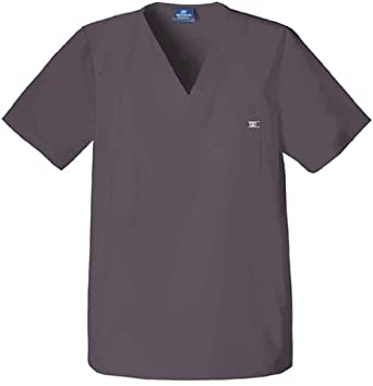 Skechers Scrubs-Unisex V-Neck Top (Dark Grey 4X)