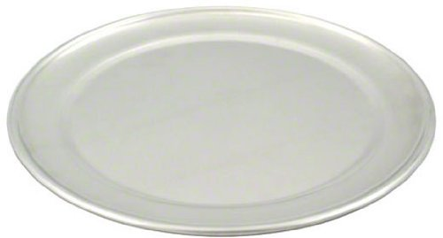 American Metalcraft TP8 TP Series 18-Guage Aluminum Standard Weight Wide Rim Pizza Pan, 8-Inch