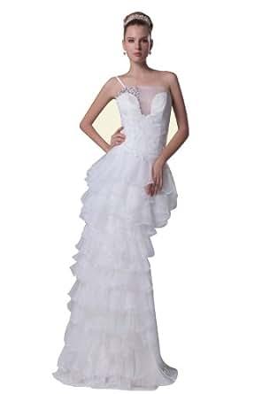 Herafa Wedding Dress Elegant NOw35095 Amazon Fashion