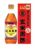 まるしげフーズ 玄米黒酢 500ml