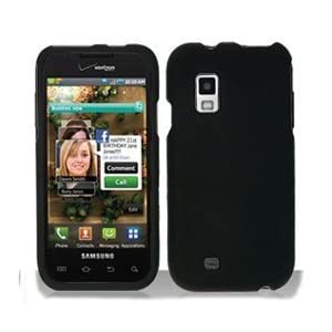 Black Rubberized Protector Case for Samsung Fascinate SCH-i500