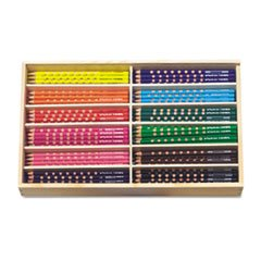 * Groove Slim Colored Pencils, Assorted Secondary Colors, 12/Set
