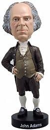 Royal Bobbles John Adams Bobblehead