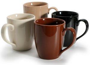 BIA Cordon Bleu Coffee/Tea Mugs, Set of 4